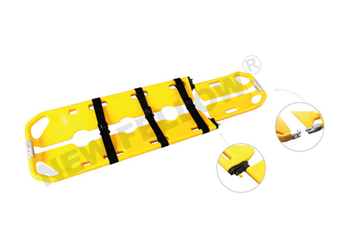 X - Ray Allowed Plastic Confined Space Rescue Stretcher For Emergency Rescue