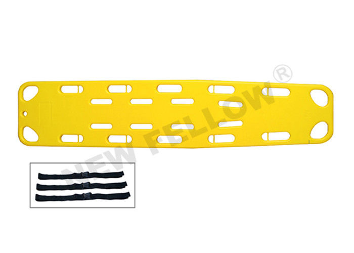 Lightweight Plastic Medical First Aid Spine Board Stretcher For Wounded Patients