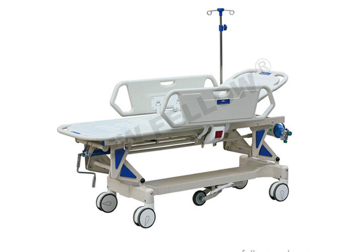 ABS Plastic Luxury Patient Stretcher Trolley